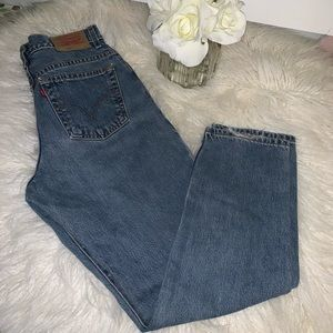 LEVI'S VINTAGE 550 RELAXED Straight Mom Jeans